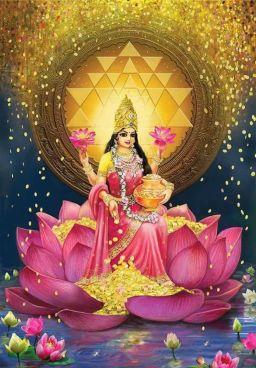 Lakshmi Diosa de la Fortuna y la Abundancia